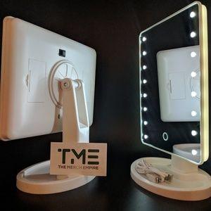 1x vanity mirror hollywood style LED